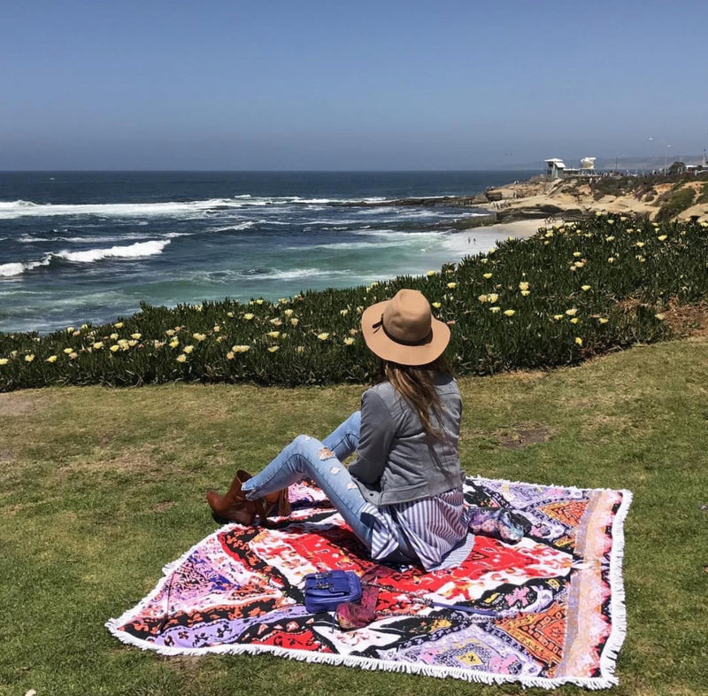 Skova Multi-Purpose, beach, picnic, pool, travel blanket! A travel must-have!