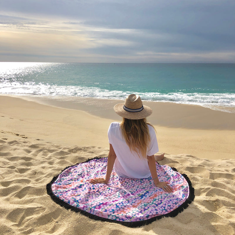 Bindi Round Travel Towel