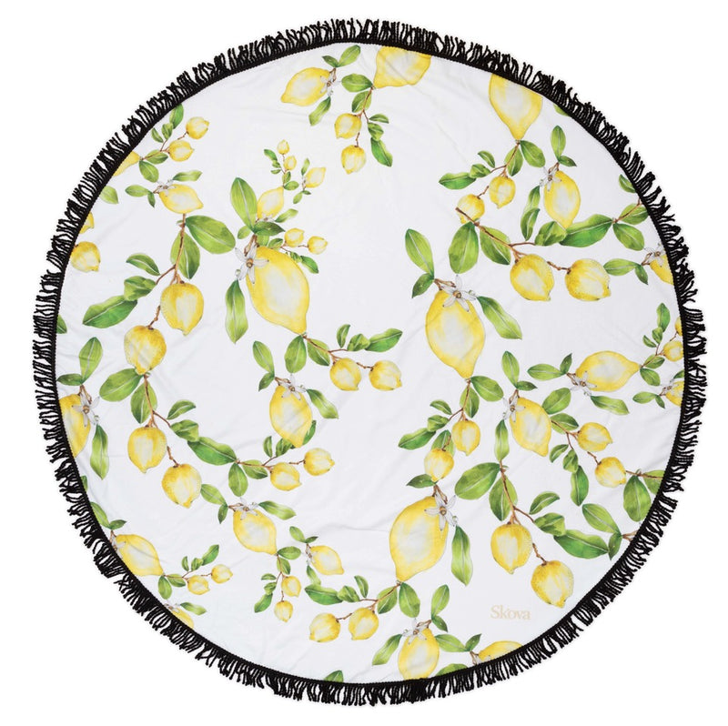 The Limoncello Round Towel