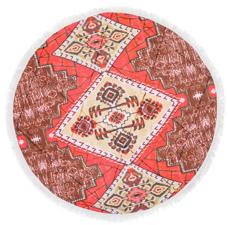 Sahara Round Towel (Online Exclusive)