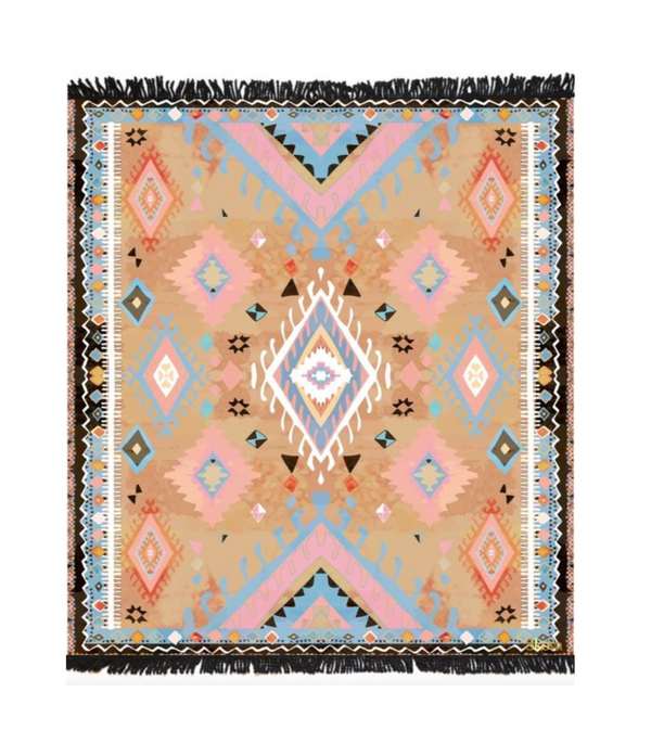 Casablanca Earth Tone Picnic Rug