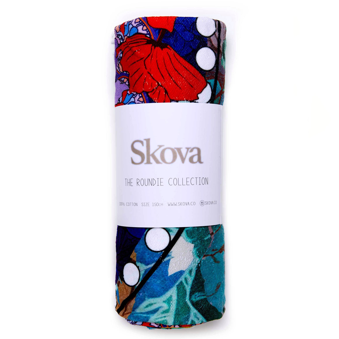 Skova Multi-Purpose, beach, picnic, pool, travel blanket! A travel must-have!Roundie Towel Round