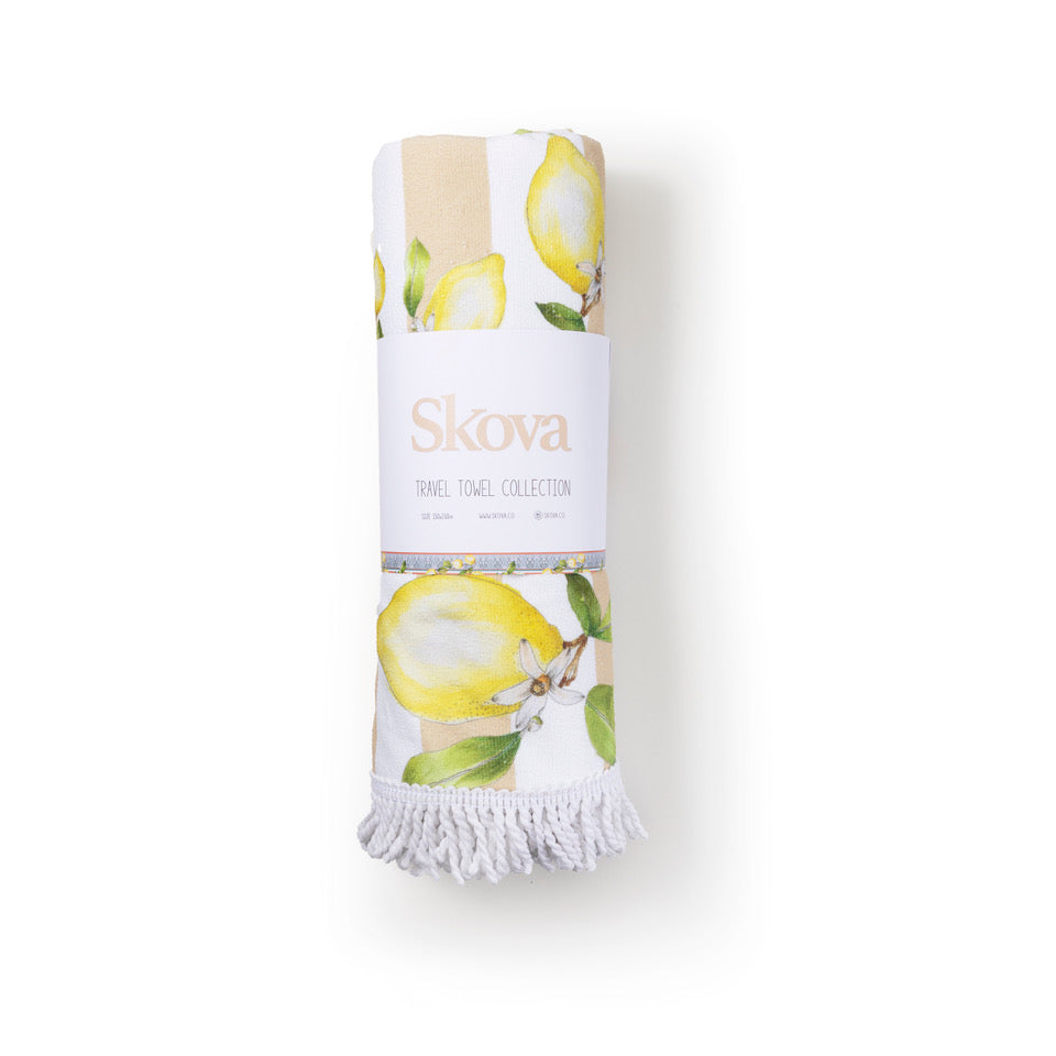 PINK LEMONADE TRAVEL TOWEL