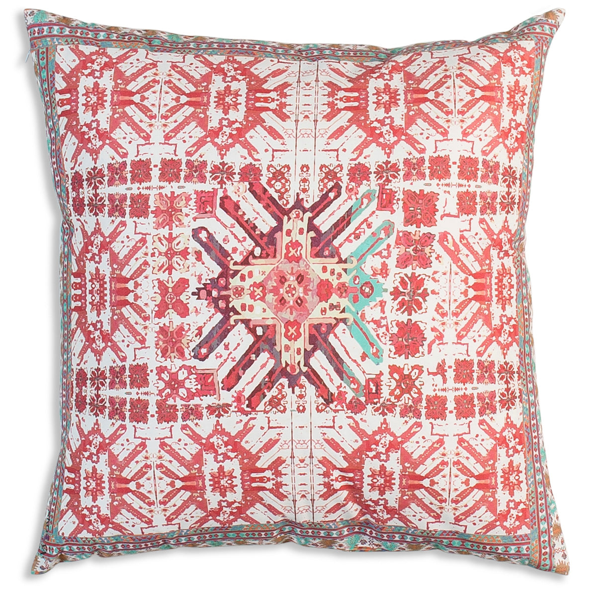 bohemian pink pillow product glow kilim