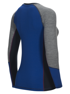 Women's Merino Wool Blend Magic LS Base Layer