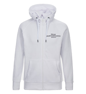 Logo Zipped Hooded Sweatshirt