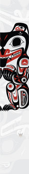 Clarence Mills - Haida Bear Right