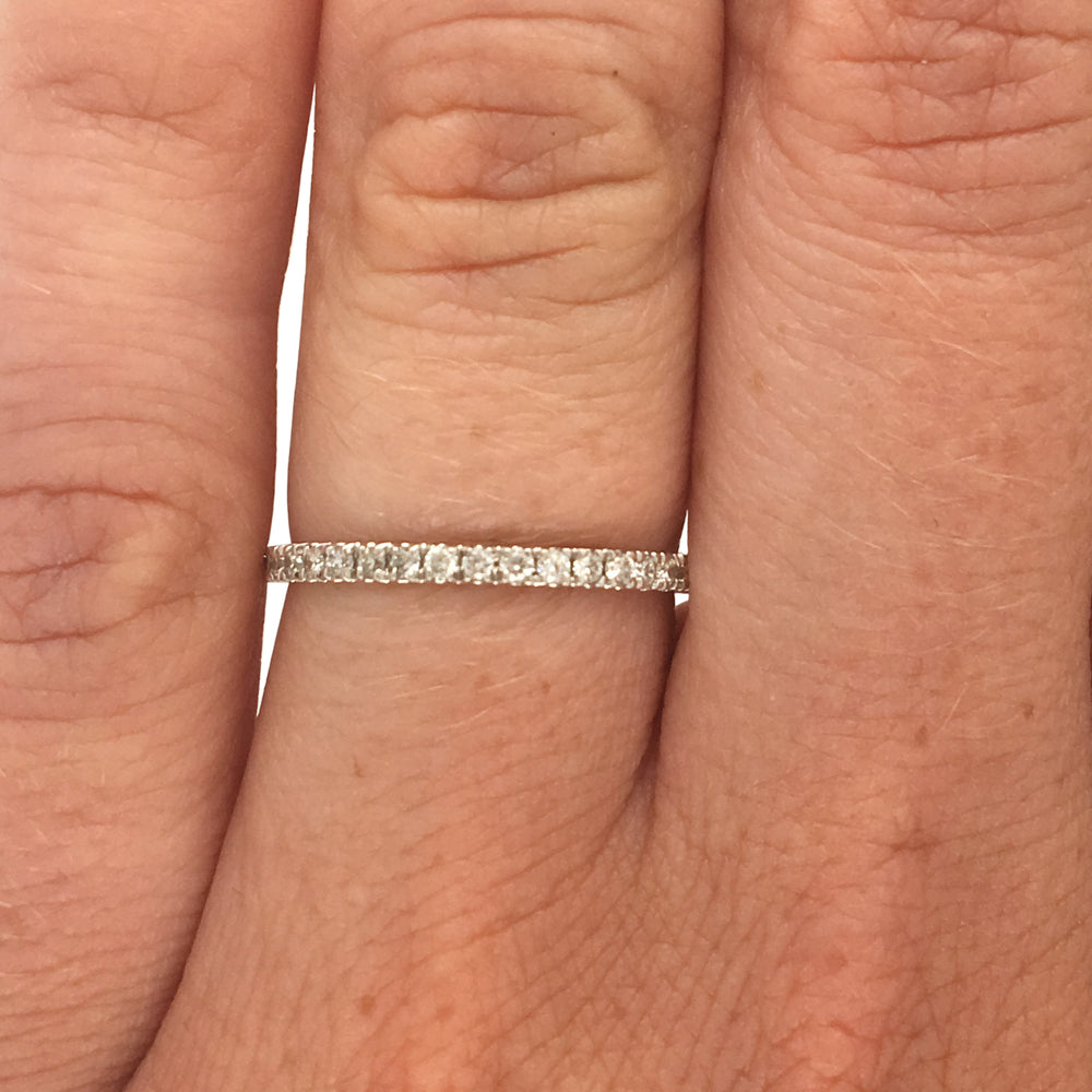 3/4 Eternity Band - The Curated Gift Shop