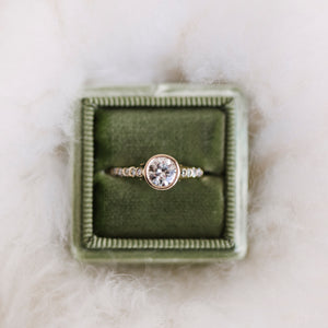 Load image into Gallery viewer, Modern Diamond Engagement Ring - The Curated Gift Shop
