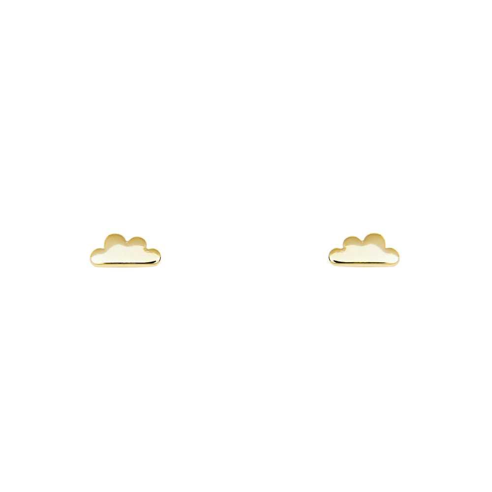 Cloud Stud Earrings - The Curated Gift Shop