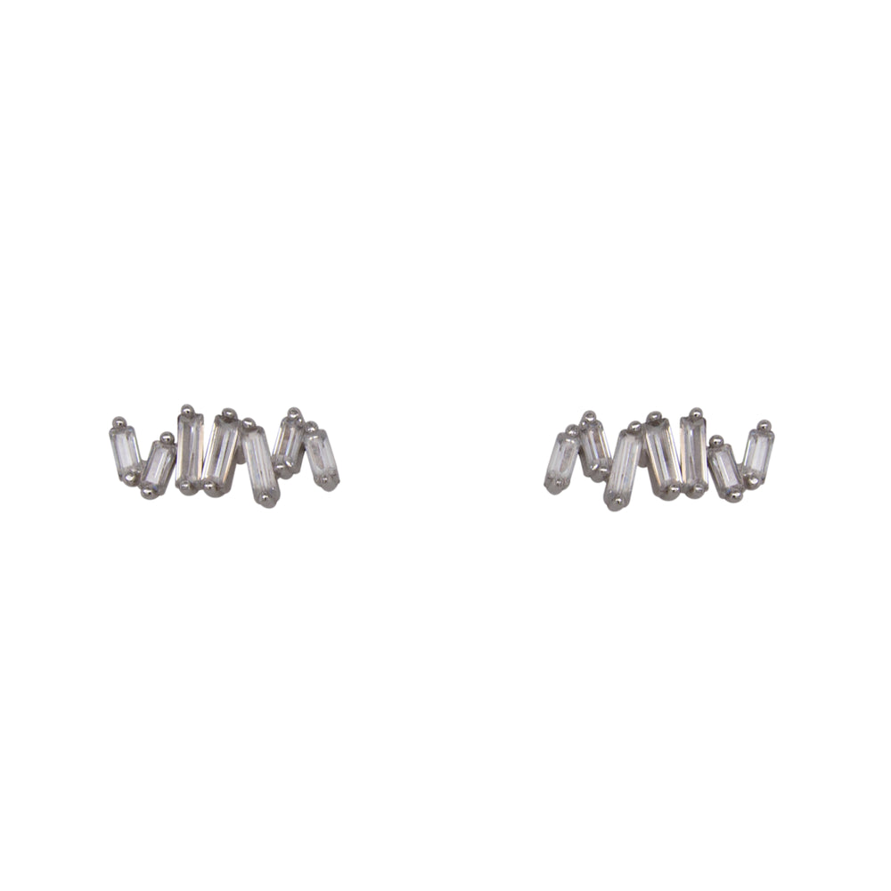 Load image into Gallery viewer, Crystal Cluster Studs | 7 Crystals - The Curated Gift Shop