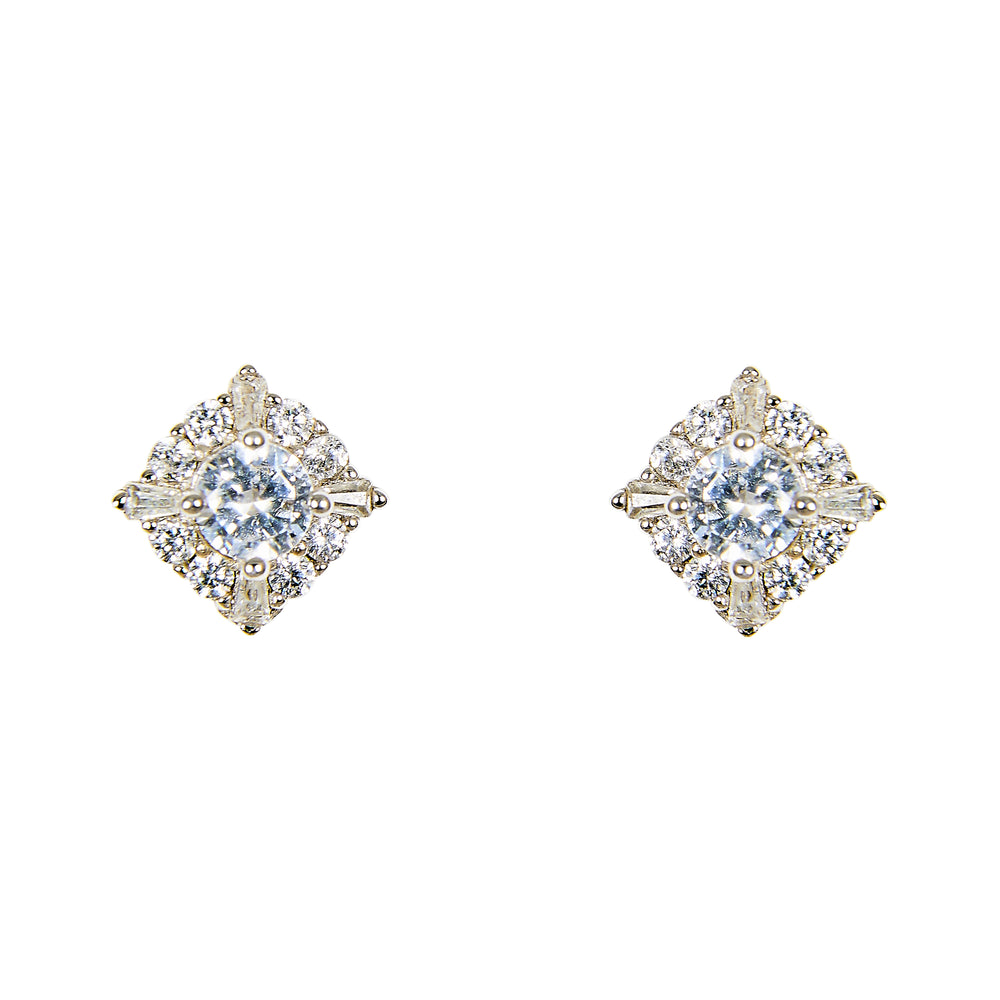 Crystal Stud Earrings | Large - King + Curated