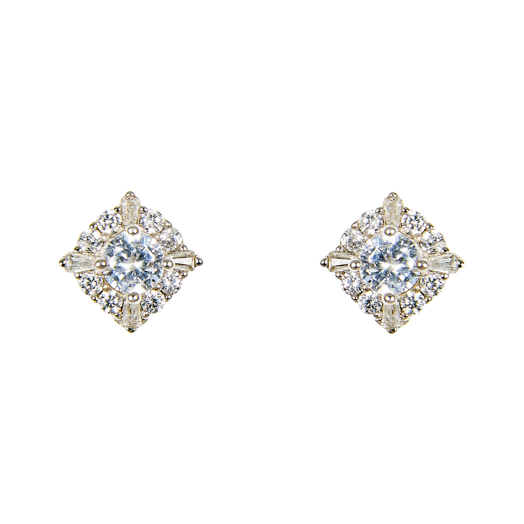 Crystal Stud Earrings | Large - The Curated Gift Shop