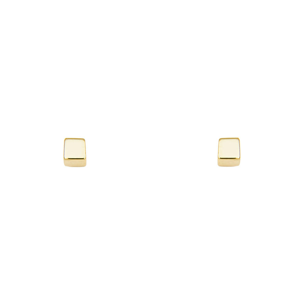 Cube Shaped Studs - The Curated Gift Shop