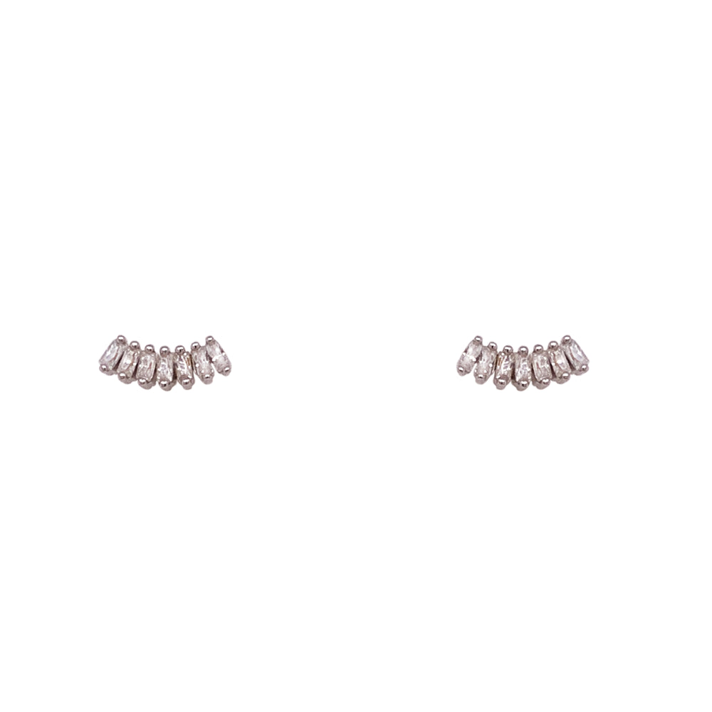 Dainty, Marquise Cluster Studs - The Curated Gift Shop