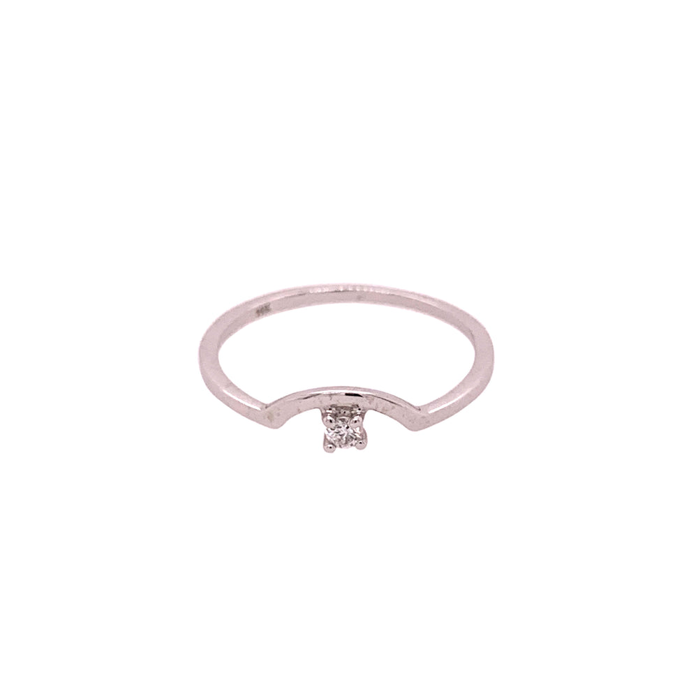 Diamond Arch Ring - The Curated Gift Shop