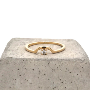 Load image into Gallery viewer, Diamond Arch Ring - The Curated Gift Shop