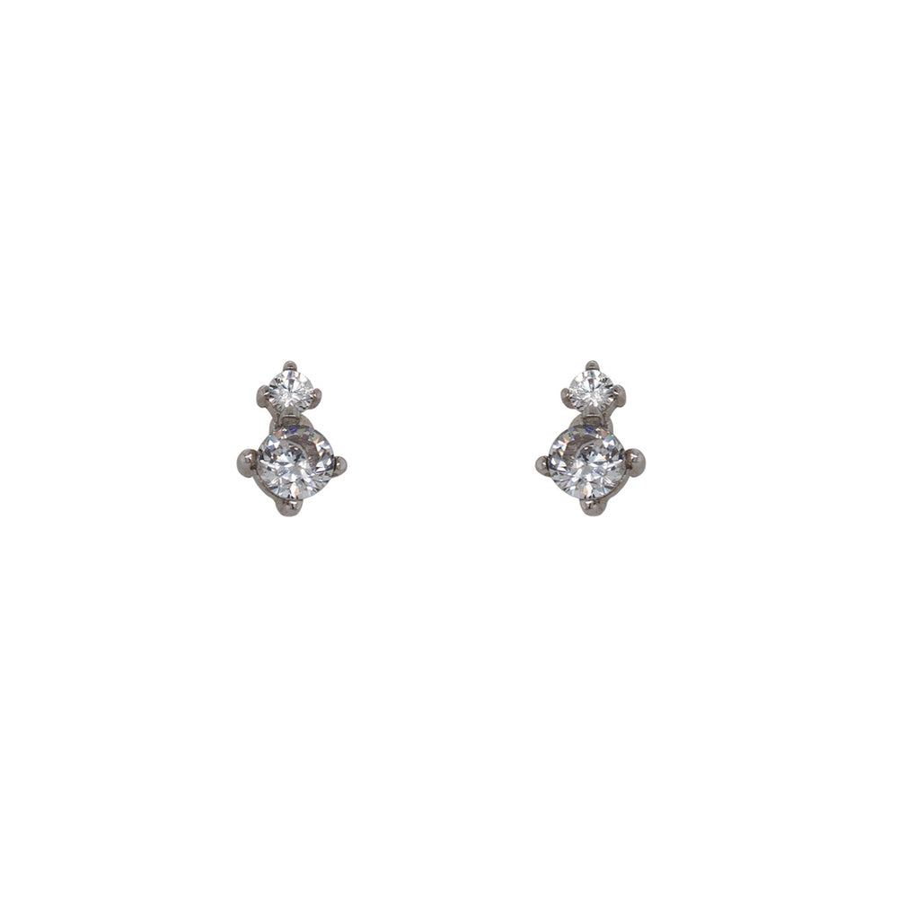 Load image into Gallery viewer, Double Crystal Studs - The Curated Gift Shop