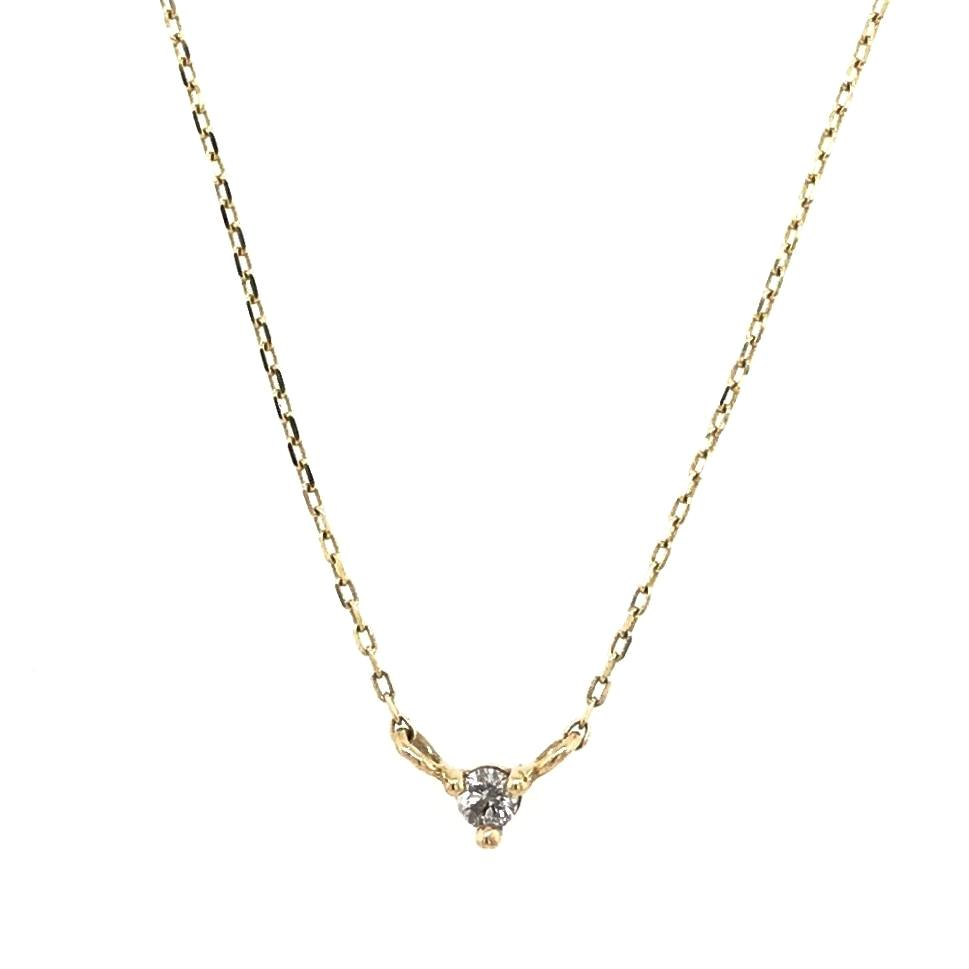 Petite Diamond Necklace - King + Curated