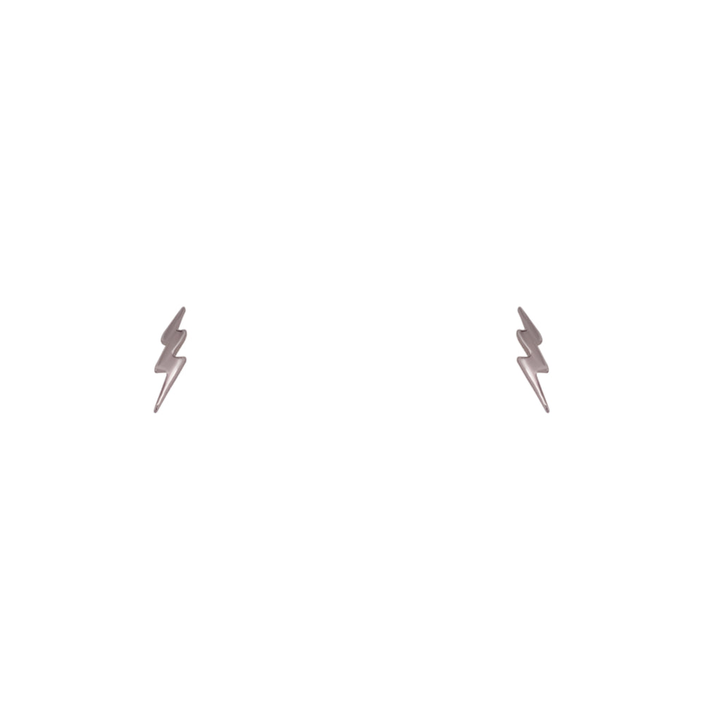 Lightning Bolt Stud Earrings - King + Curated