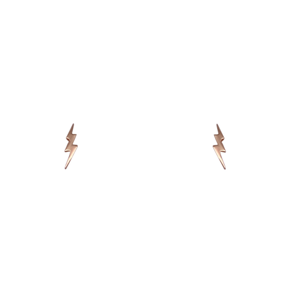 Lightning Bolt Stud Earrings - The Curated Gift Shop