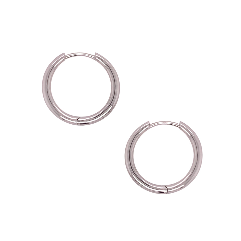 Load image into Gallery viewer, Modern, Thick Hoop Earrings | 20mm - The Curated Gift Shop