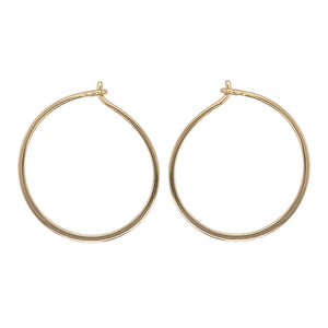 Load image into Gallery viewer, Modern, Thin Hoop Earrings | Small - The Curated Gift Shop