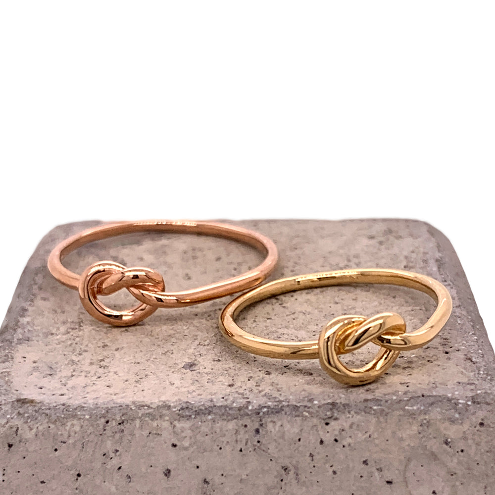 Stacking Band No. 10 | Large Love Knot - The Curated Gift Shop