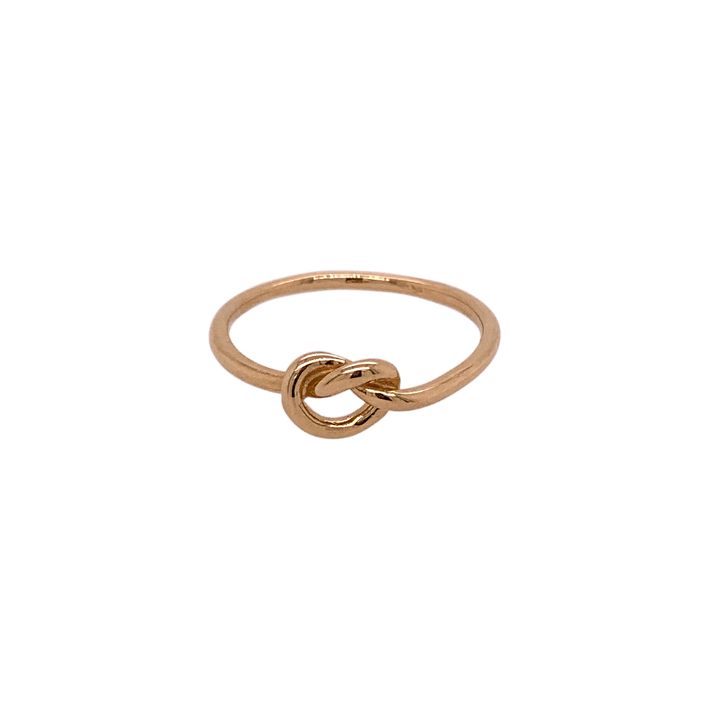 Stacking Band No. 10 | Large Love Knot - King + Curated