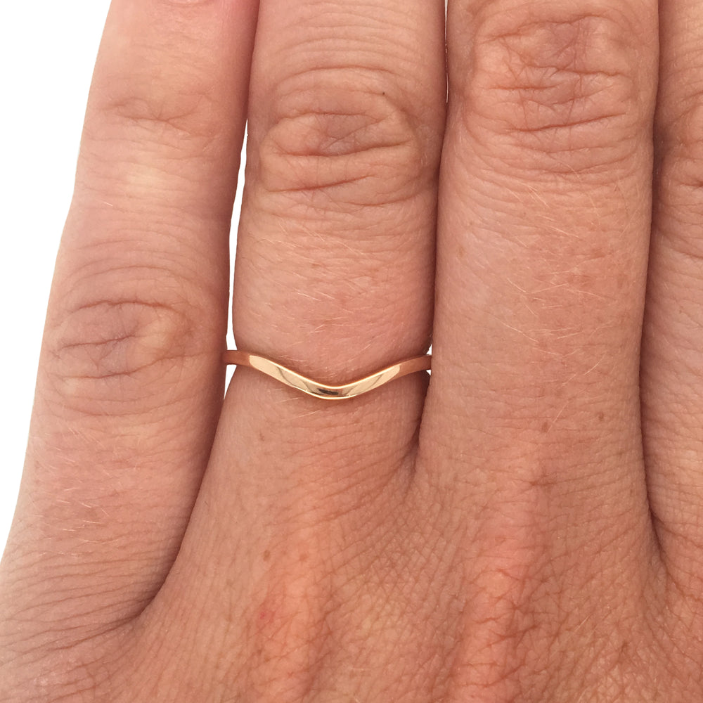 Stacking Band No. 16 | Curved Arch - The Curated Gift Shop
