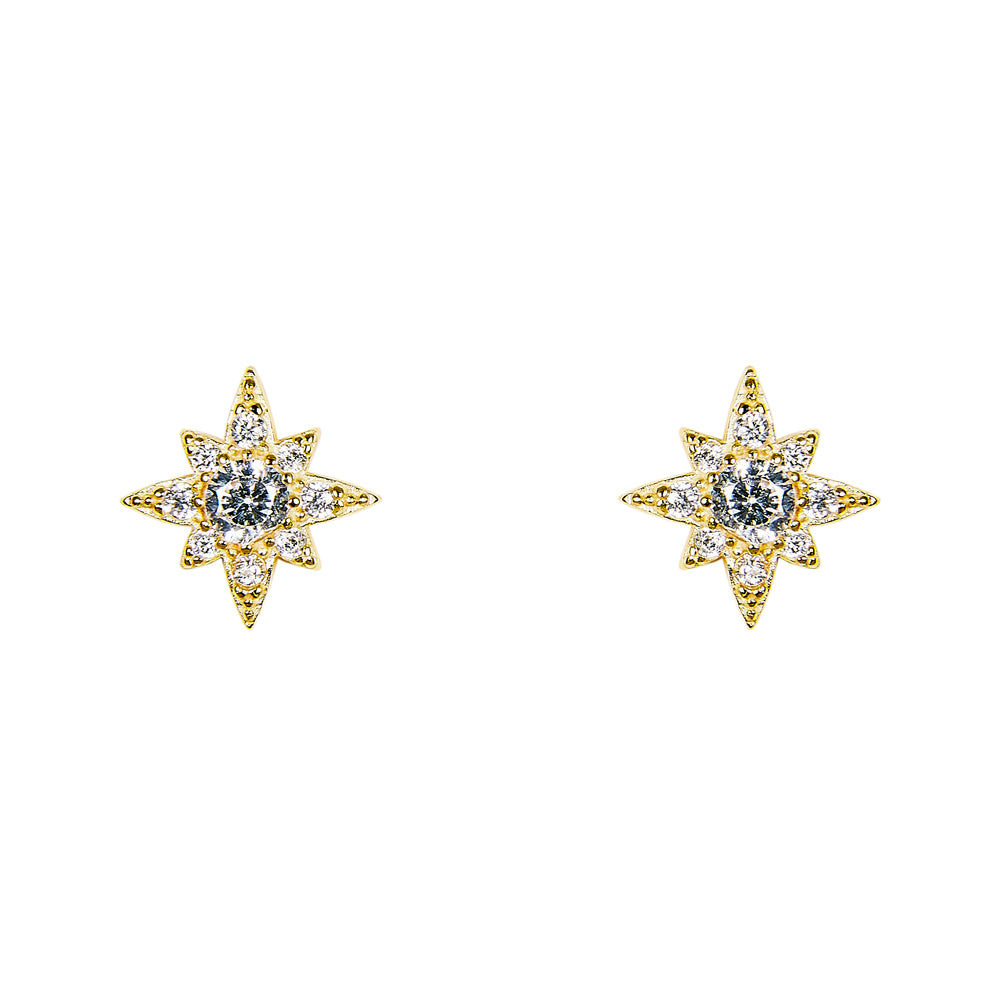 Starburst Stud Earrings | Large - The Curated Gift Shop