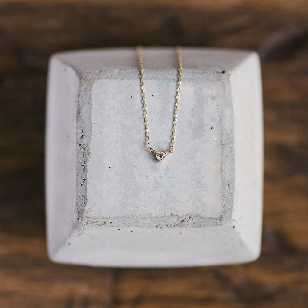 Petite Diamond Necklace - The Curated Gift Shop