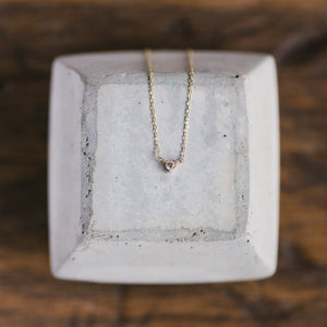 Load image into Gallery viewer, Petite Diamond Necklace - The Curated Gift Shop