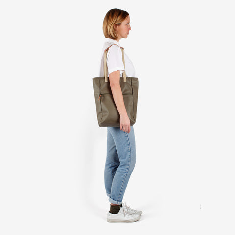 Tote Backpack · Khaki