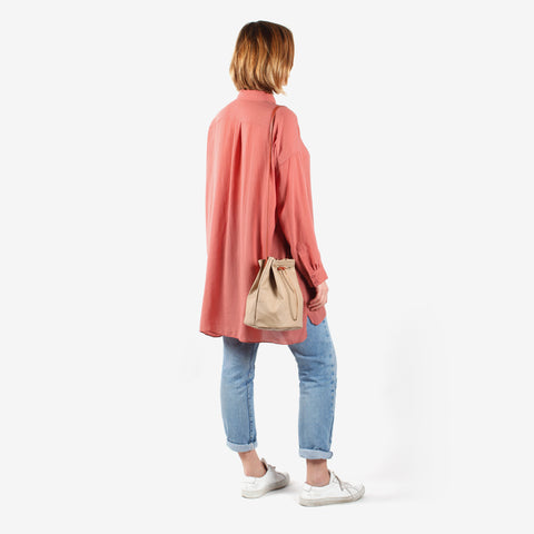 Bucket Bag · Beige
