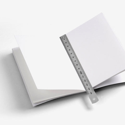 Clear Regular Notebook