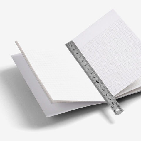 Grid-lined Regular Notebook