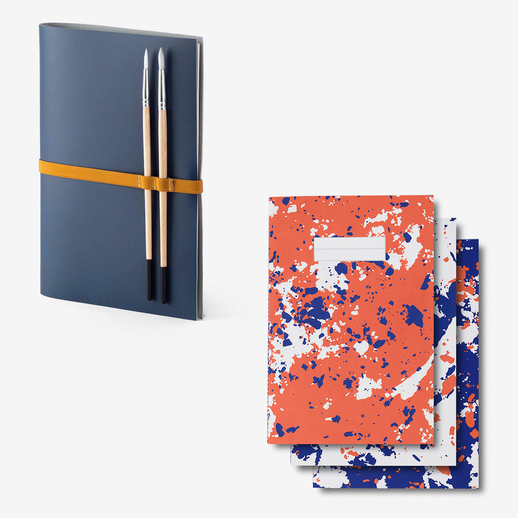 Notebook Cover · Navy