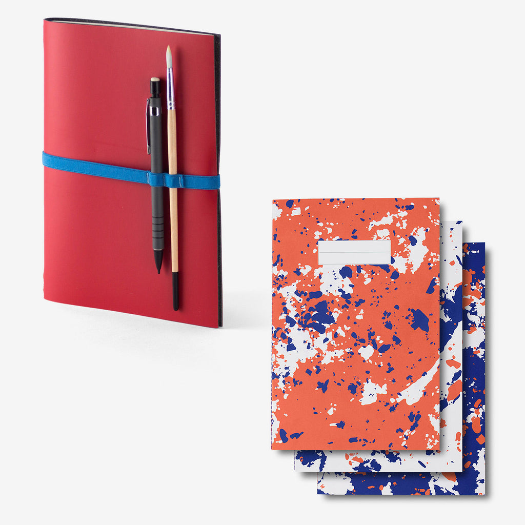 Notebook Cover · Red