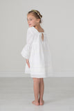 One Little Wildflower Boho Freya Dress in White