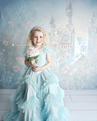 Dollcake Sweetly In The Trees Frock In Baby Blue