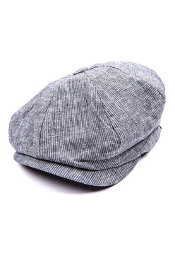 Appaman Paperboy Cap In Railroad Stripe