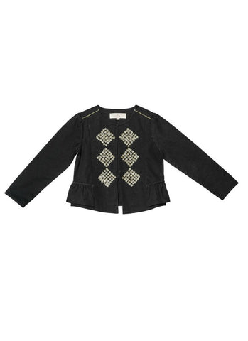 Tutu Du Monde Bee's Knees Jacket In Black. Available for rent from The Borrowed Boutique.