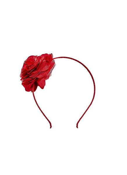 Tutu Du Monde Bloom Headband In Holly. Available for rent from The Borrowed Boutique.