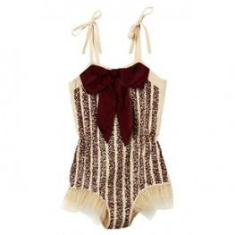 Tutu Du Monde Broadway Onesie in Lychee available for rent from The Borrowed Boutique.