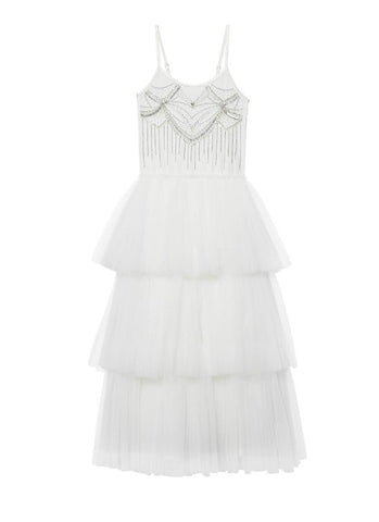 Tutu Du Monde Chandelier Tutu Dress In Milk.