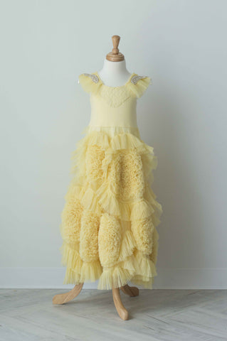 Dollcake Fairytale Frock in Yellow