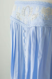 Fillyboo Abbey Road Strapless Dress In Powder Blue