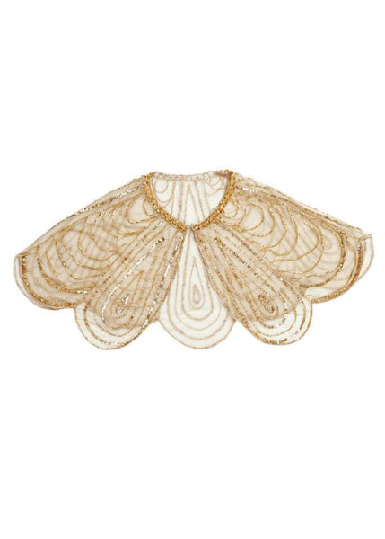 Tutu Du Monde Golden Shores Cape in Gold available for rent from The Borrowed Boutique.
