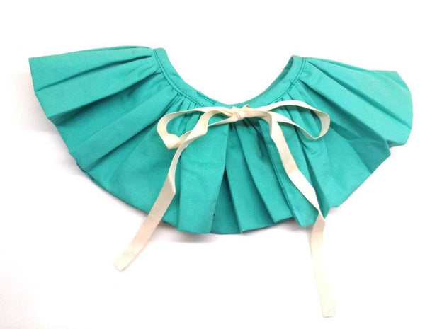 Halo Luxe Teal Bon Bon Collar available for rent from The Borrowed Boutique.